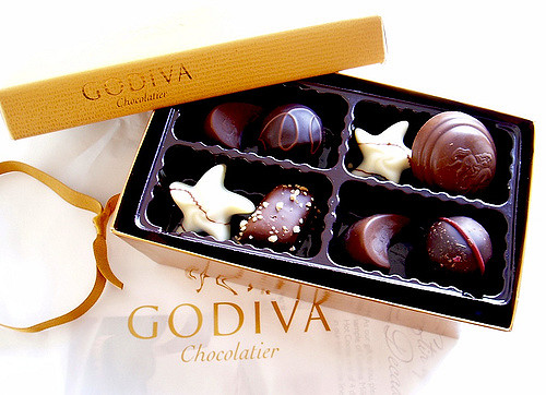 a bit of godiva happiness by Janine, used under a CC-BY 2.0 license