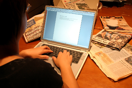 Typing content by Search Engine People Blog on Flickr