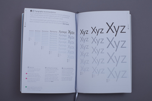 Open design sampler demonstrating the design principles of contrast, repetition, alignment, and proximity
