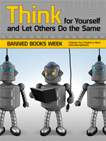 Banned Book Week 2010 Poster from the American Library Association