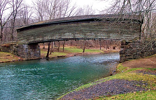 Virginia's Oldest Covered Bridge, Humpback Covered Bridge