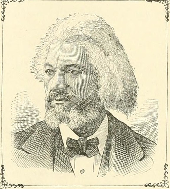 Illustration of Frederick Douglass